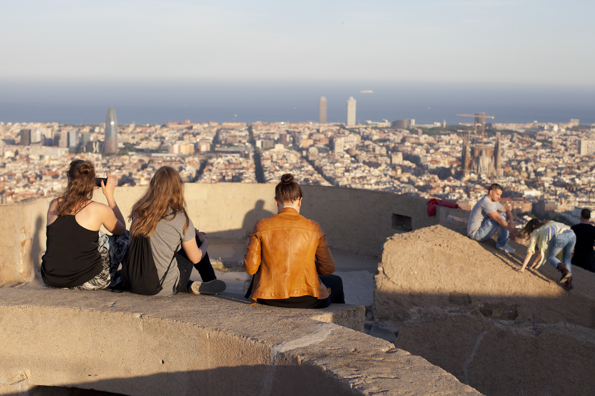 Spanien, Barcelona, Bunker del Carmen