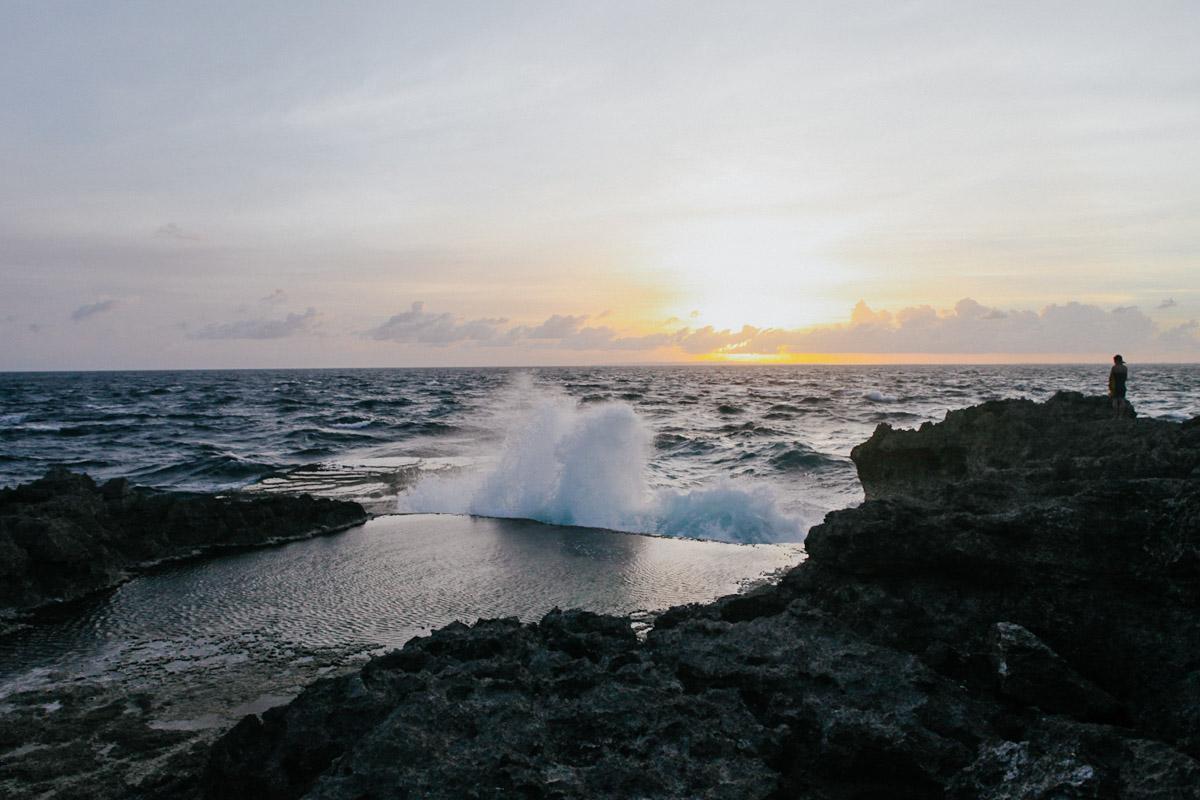 Indonesien, Bali, Nusa Lembongan, Panorama, Tidepools