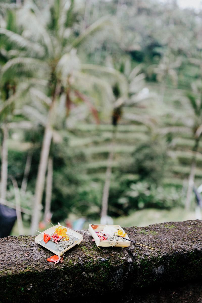 Indonesien, Bali, Opferschalen