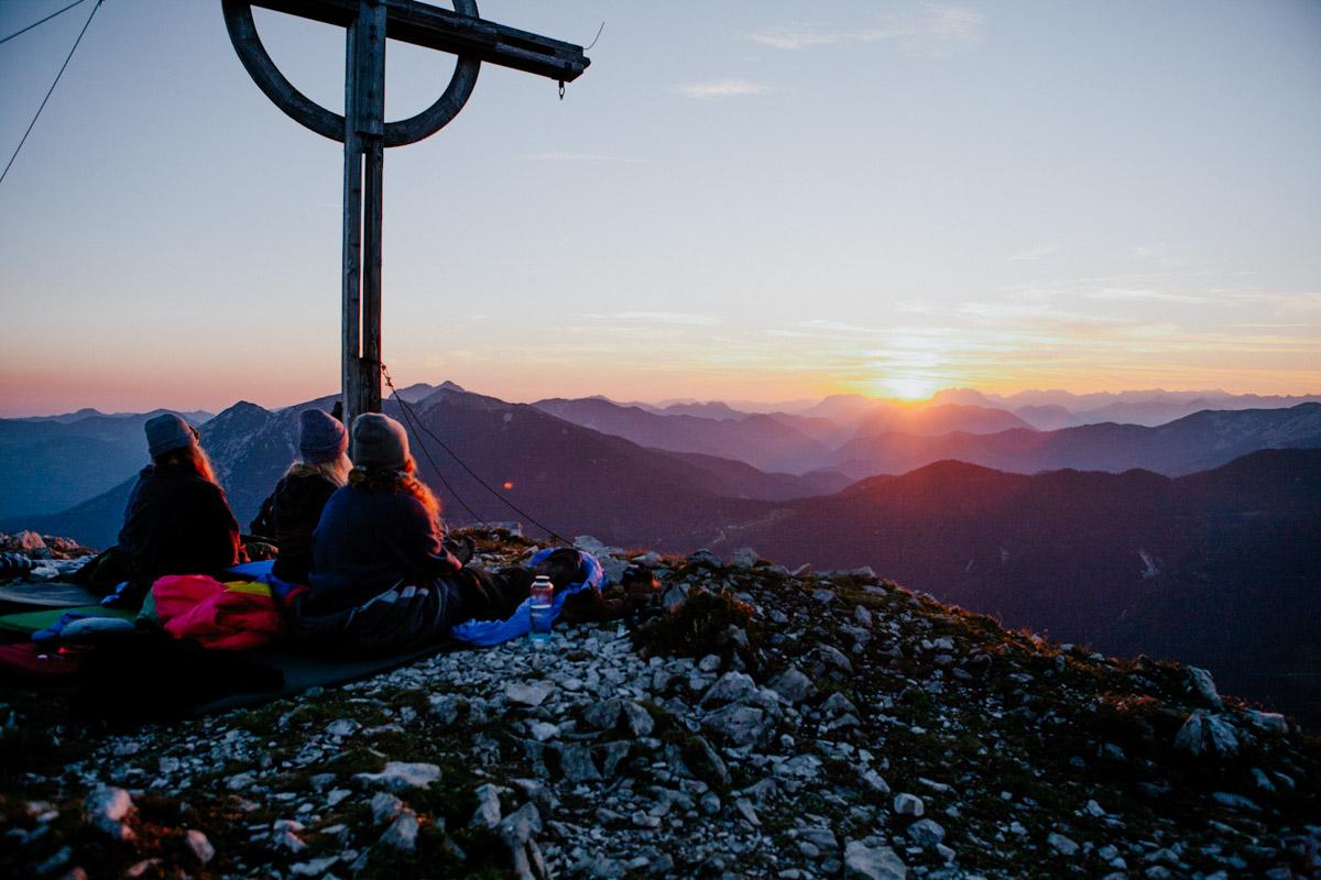 Österreich, Tirol, Seekarspitze, Wanderlust